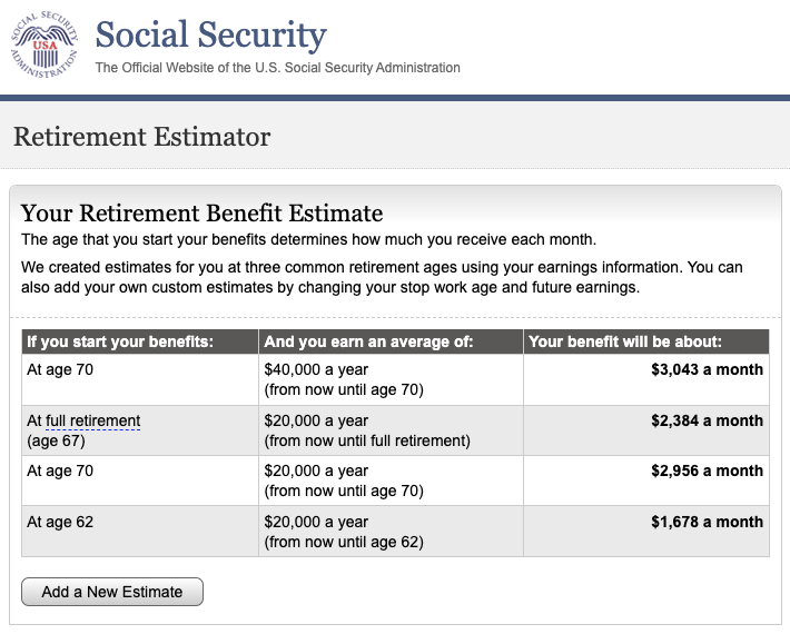 how is social security calculated